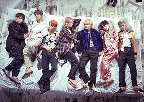 Fanstown Kpop BTS Bangtan Boys Poster Wings 16.5 x 11.7 inch A3 Size Thicken Coated Paper (E01)