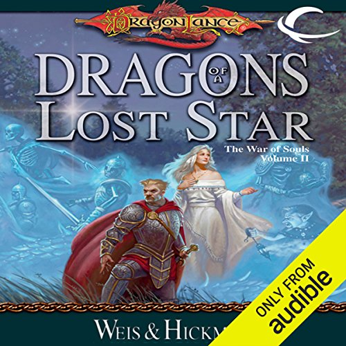 Dragons of a Lost Star     Dragonlance: The War of Souls, Book 2              By:                                                                                                                                 Margaret Weis,                                                                                        Tracy Hickman                               Narrated by:                                                                                                                                 Marieve Herington                      Length: 18 hrs and 12 mins     9 ratings     Overall 4.4