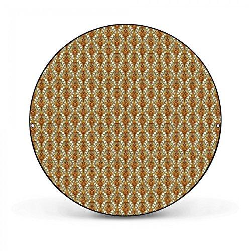 Design Magnettafel von banjado   Pinnwand magnetisch 47cm Ø   Memoboard mit Motiv Viking   Magnetwand schwarz aus Metall rund