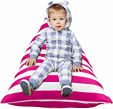 MHJY Stuffed Animal Storage Bean Bag Chair for Kids Toy Storage Organizer Sack Plush Toys Bean Bag Cover Lounger Bed