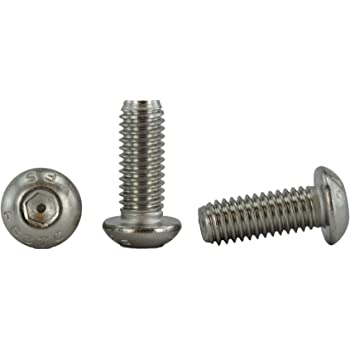 6 pcs Square Head 3//8-16 X 1 Full Thread Set Screws Cup Point AISI 304 Stainless Steel 18-8