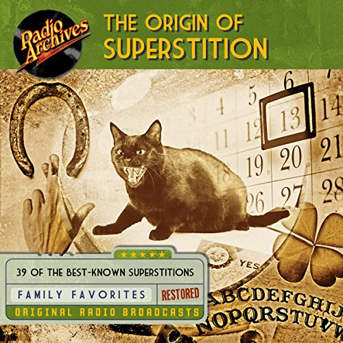 The Origin of Superstition audiobook cover art
