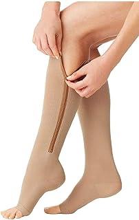Calcetines compresivos - Comfy Socks (Carne, S/M)
