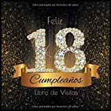 Feliz 18 Cumpleaños Libro de Visitas: Libro de Firmas Evento Fiesta I Encuadernación de Diamantes Ne...