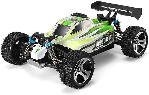YYD Neues High-Speed-Gel ewagen-Spielzeug, professionelles Rennfernsteuerungsauto, 1 18 Allrad-Superkraft,Grün