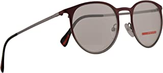 Prada PS50HV Eyeglasses 50-19-140 Bordeaux Gunmetal Gradient w/Demo Clear Lens U6V1O1 VPS 50H PS 50HV VPS50H