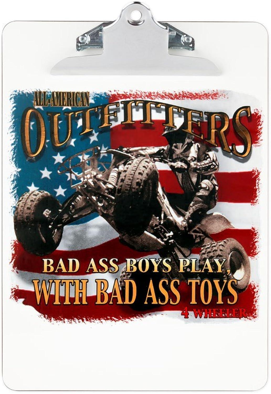 Clipboard Bad Ass Boys Play Bad Ass Toys
