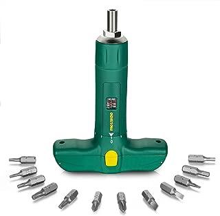 METAKOO Torque Screwdriver, Wider Range 15-75 Inch Pounds (2-8 Newton Meters), 12 1/4