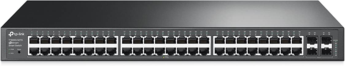 TP-Link Jetstream 48-Port Gigabit Smart Switch with 4-SFP Slots (T1600G-52TS/TL-SG2452)