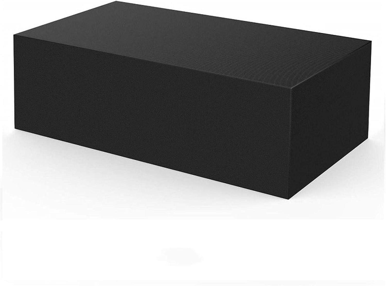 XJHKG Funda para Muebles De Jardín, 420D Oxford Impermeable Anti-UV Cubierta De Mesa De Jardín Funda para Mesa (90x90x40cm)