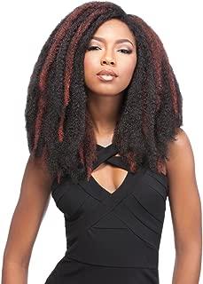 JAMAICAN LOCKS 26 (BURG) - Sensationnel African Collection Crochet Bulk Braid by Sensationnel