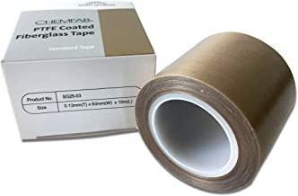 PTFE Coated Fabric Tape | High Temperature Vacuum Machine Packing Tape | Made by Saint Gobain SG 25-03