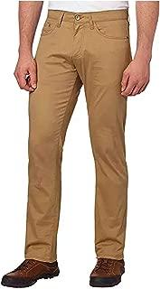 Weatherproof Vintage Mens 5 Pocket Twill Pant (38x34, Khaki)