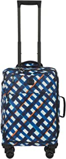 Bric's X Travel 2.0 21 Inch International Carry on Spinner (Pastello Blue)
