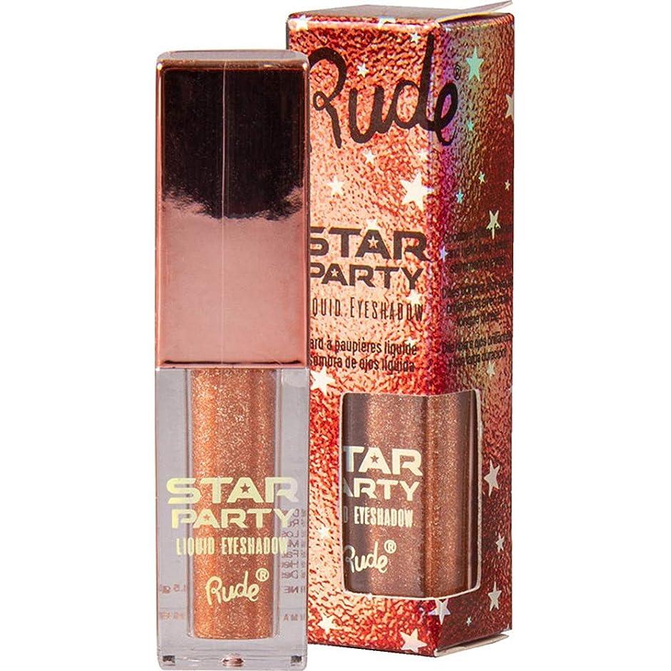 好き課す電信RUDE Star Party Liquid Eyeshadow - After Glow (並行輸入品)