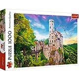 Brandsseller Puzzle (1000 piezas), diseño de castillo de Liechtenstein