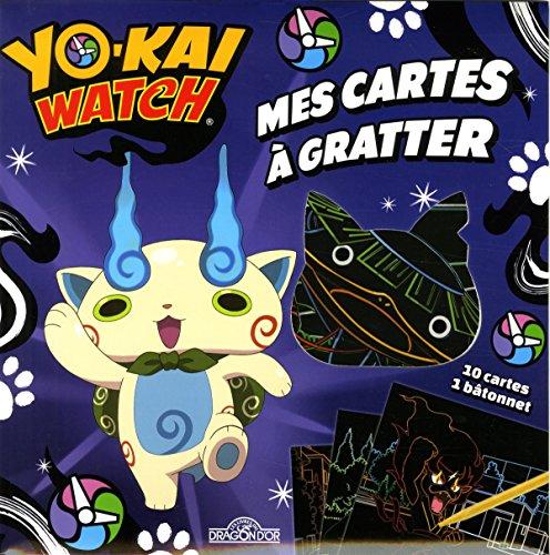 Mes cartes à gratter Yo-kai watch-Komasan