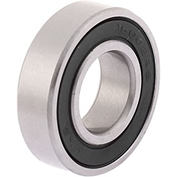 Pack of 10 Ball Bearings 6002-2RS 15 mm x 32 mm x 9 mm Double Sealed 180102 Deep Groove Ball Bearings High Carbon Steel Z1