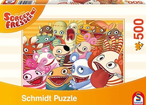 Schmidt 59752 - Sorgenfresser, Die Sorgenfresser, Puzzle, 500 Teile