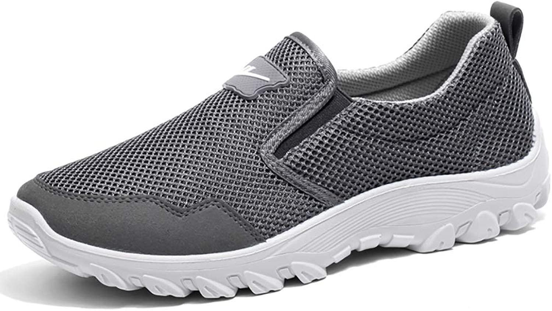 Wanderschuhe Atmungsaktiv und Deodorant Mesh-Schuhe für Herren Faule Freizeitschuhe Freizeitschuhe Mesh-Schuhe Herrenschuhe Weiche Unterseite  beste Qualität zum besten Preis