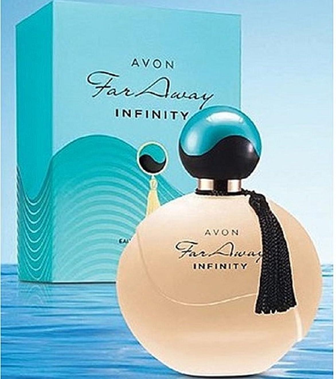 仮定する火薬ブレークAVON Far Away Infinity For Her Eau de Parfum 50ml