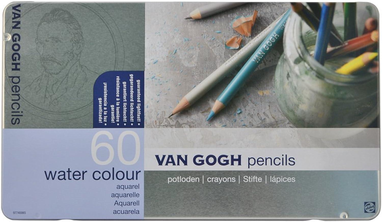 VAN GOGH Pencil 60 colord pencil Metal Case by Sakura color
