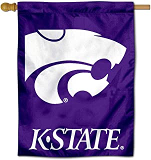 College Flags & Banners Co. Kansas State University Wildcats House Flag