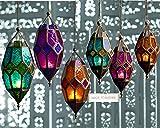 Klass Home Collection Authentischer marokkanischer Lampenschirm, groß, klassisch, Vintage,...