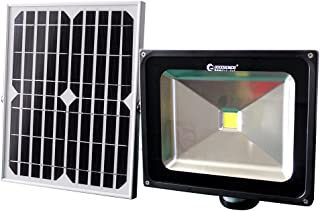 GOODGOODS LED センサーライト ソーラー式 50W 500W相当 人感センサー搭載 ソーラーライト 投光器 屋外 防水 防災 防犯 【一年保証】 TGY-50