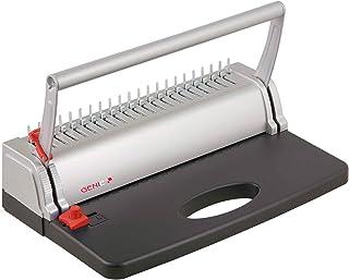 comprar comparacion Genie CB 800 - Encuadernadora (hasta 145 páginas, DIN A4, incluye juegos de canutillos de plástico), color plateado y negro
