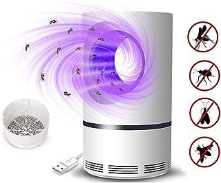 KIKIGO UV Lámpara Anti Mosquitos,Repelente De Mosquitos Doméstico De Interior, Lámpara De Mosquito Física De Inhalación, Lámpara De Mosquito Repelente De Mosquitos Usb-215 * 120 Mm