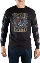 Black Grateful Dead T-Shirt with Steal Your Face Album Logo