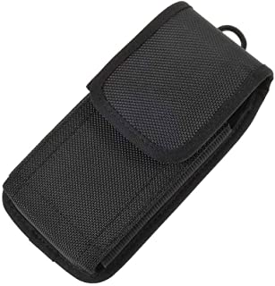 DFV mobile - Case Cover Belt in Nylon with Two Belt Loops Vertical and Horizontal for vivo iQOO Neo3 5G (2020)向け - Black