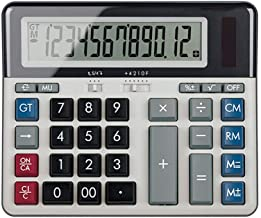 $46 » Calculator Desktop Science Calculator Office Business Finance Big Screen Calculator Dual Power Electronic Calculator Deskt...