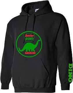 T Shirts R Funn Dino Sinclair Sweatshirt Hoodie for Men Black
