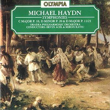 Michael Haydn: Symphony in C Major, P. 10; Symphony in D Major, P. 20 & Symphony in D Major, P. 11/21