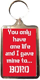 Middlesbrough F.C - One Life Keyring