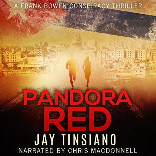 Pandora Red audiobook cover art