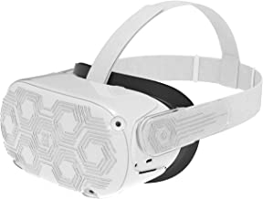 AMVR VR Headset Protective Shell, Light & Durable Front Face Cover for Oculus Quest 2 Accessories, Preventing Collisions a...