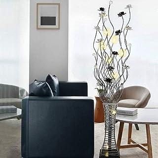 Lampadaire Durable LED Vase en Cristal en Aluminium Créatif Adapté pour Le Salon Moderne Chambre Étude Décoration Lampe Lu...