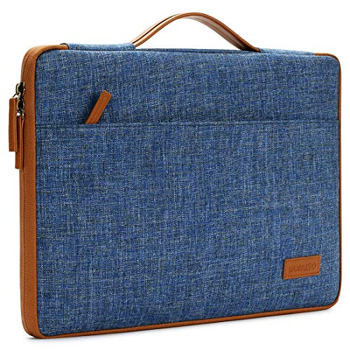 Domio - Funda para ordenador portátil de 12,5 a 13 pulgadas, para iPad Pro/13 MacBook Pro/13,5 pulgadas, Surface Laptop 2/Huawei MateBook X Pro/Lenovo Yoga S730 730, azul