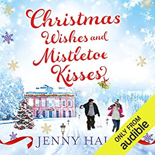Christmas Wishes & Mistletoe Kisses audiobook cover art