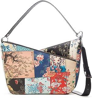 Desigual Womens BOLS_Magnus Harry 2.0 MAX Shoulder Bag, Brown, One Size