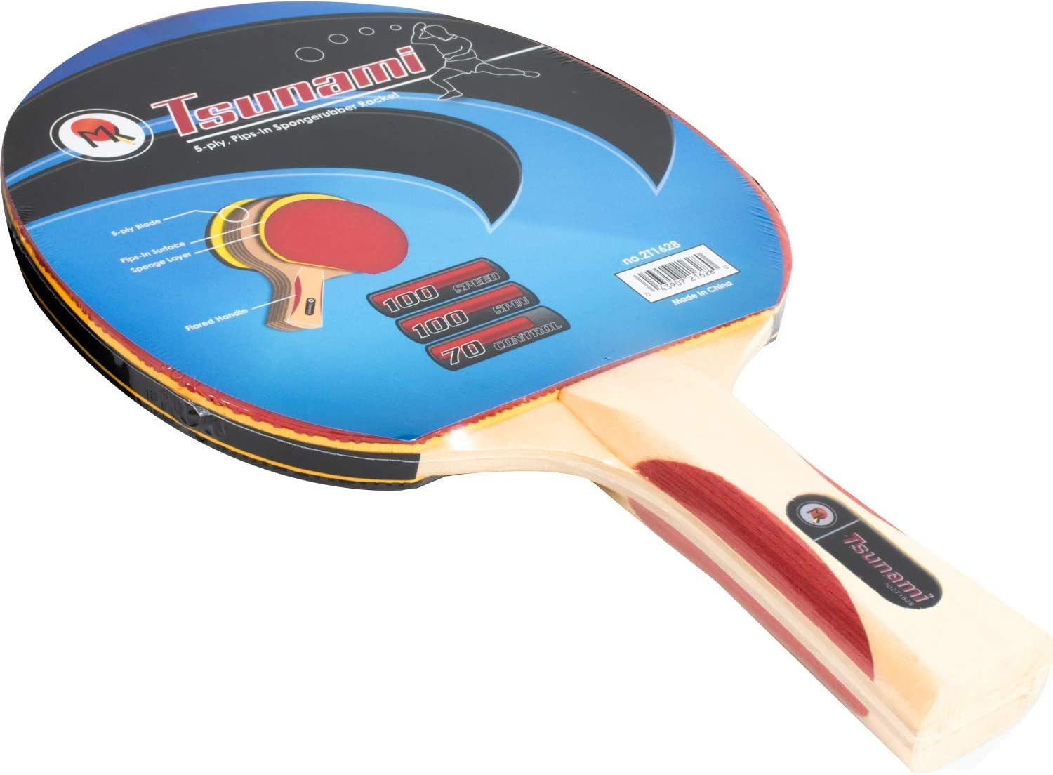 Martin Kilpatrick Tsunami Ping Pong Tulsa Mall Paddle Rubber - On Lowest price challenge Pips-In B
