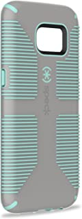 Speck 75870-5362 Dual-Layer CandyShell Grip Case for Galaxy S7 Edge - Sand Grey/Aloe Green