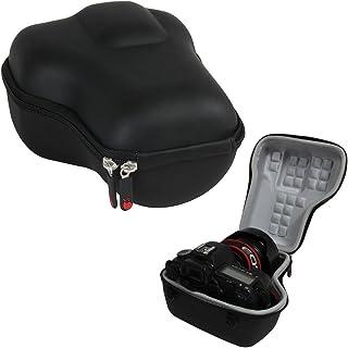 Hermitshell Caja Protectora de Viajes EVA Llevar tamaños Cubierta de la Bolsa del Bolso Compacto para Canon EOS 5D Mark II III 5DS R EF 24-105mm f/4 F4 L IS USM EF 24-70mm f/2.8L II USM DSLR Lens Kit