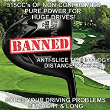Illegal Oversize Power Play Juggernaut Titanium Offset Draw Non-Conforming Custom Golf Driver