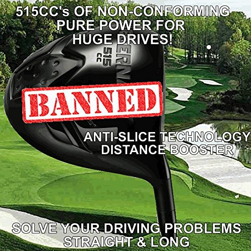 Oversize Juggernaut Non Conforming Custom Golf