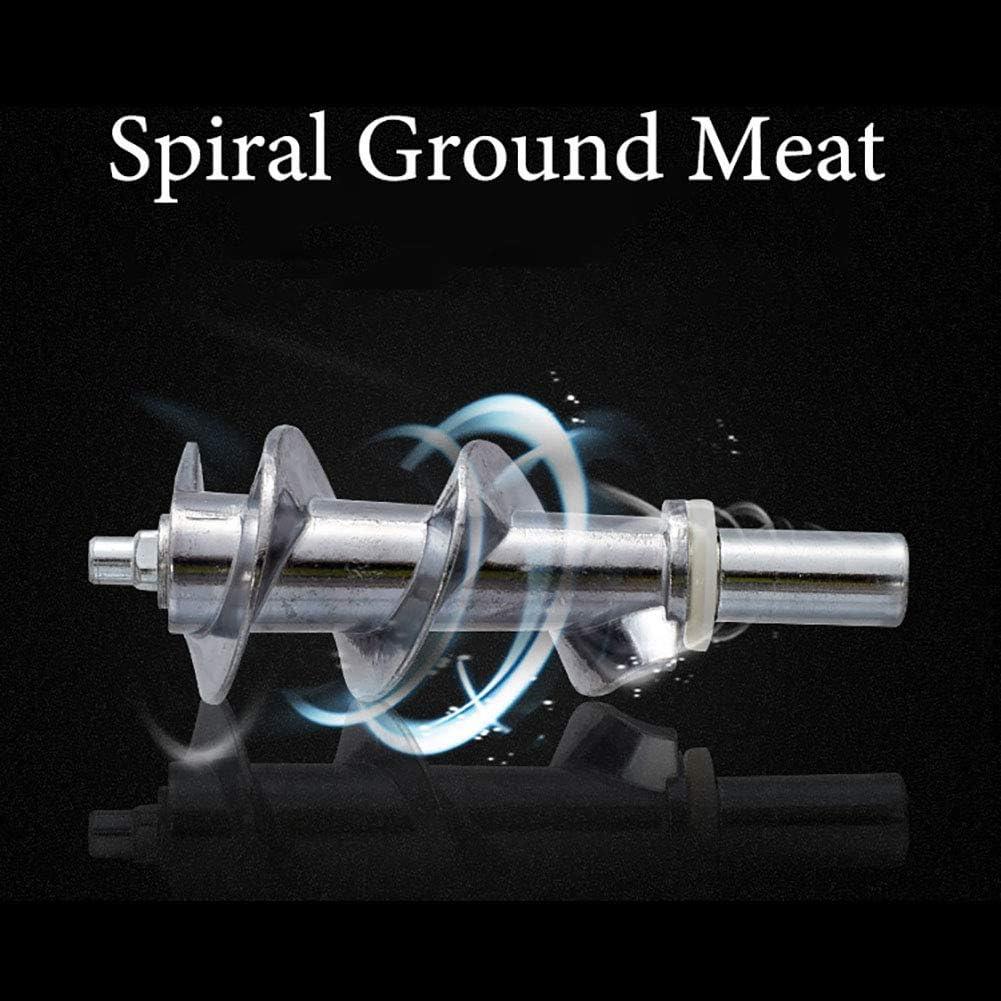 Huishoudelijke multifunctionele elektrische vleesmolen, automatische worstmachinemachine, verticale food grade roestvrijstalen salamimaker, wit Red