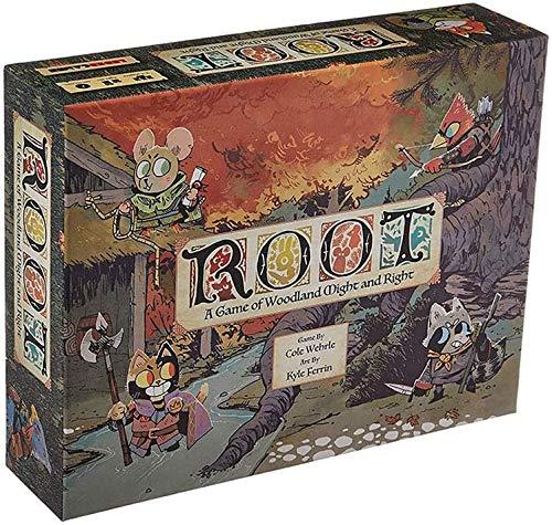 JIALI Root-Brettspiel - Strategie Abenteuer Spiel - Family Party Competitive Karten Spiele - Deutsche Version - für Erwachsene, Jugendliche und Kinder